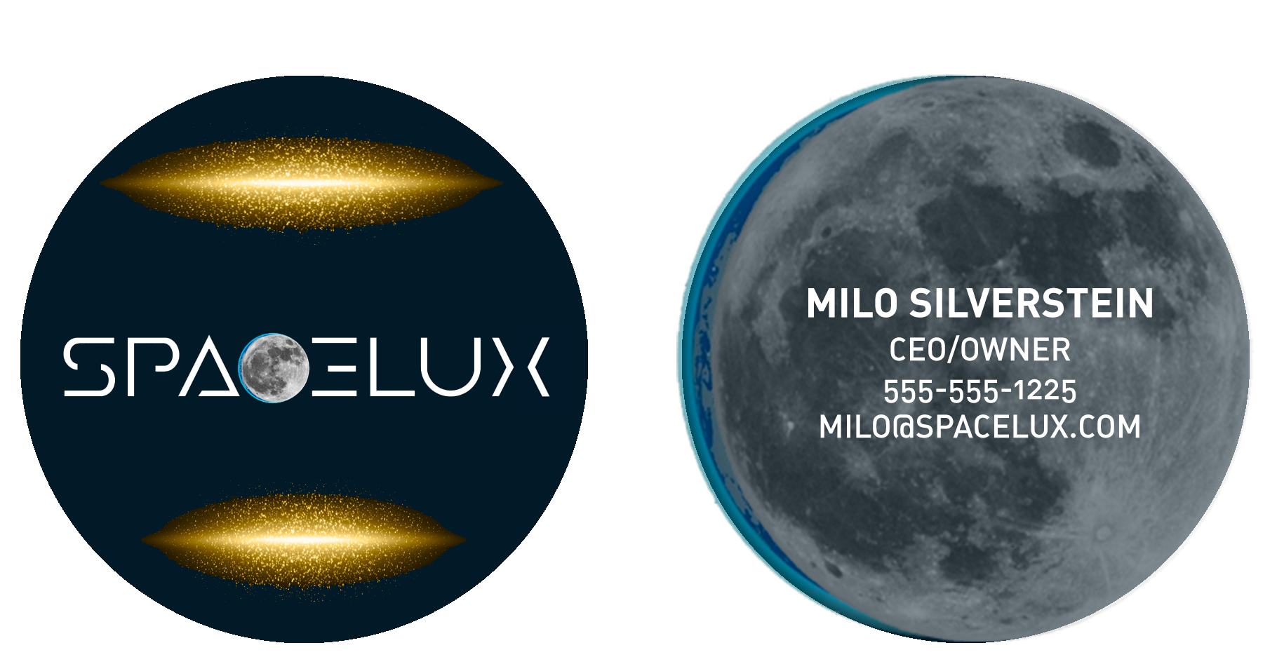 Spacelux business Card